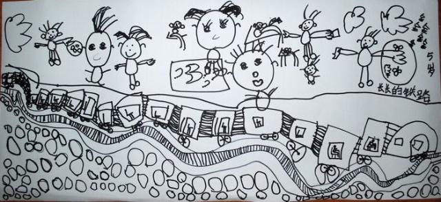 幼儿园春天来了桃花简笔画
