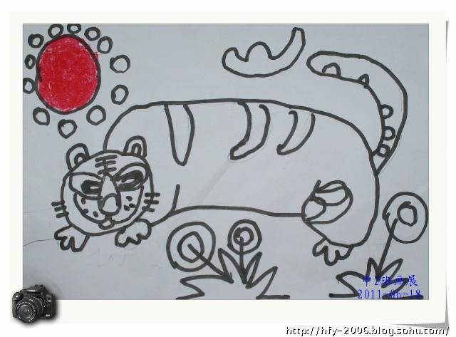 蜡笔动物画 (三)
