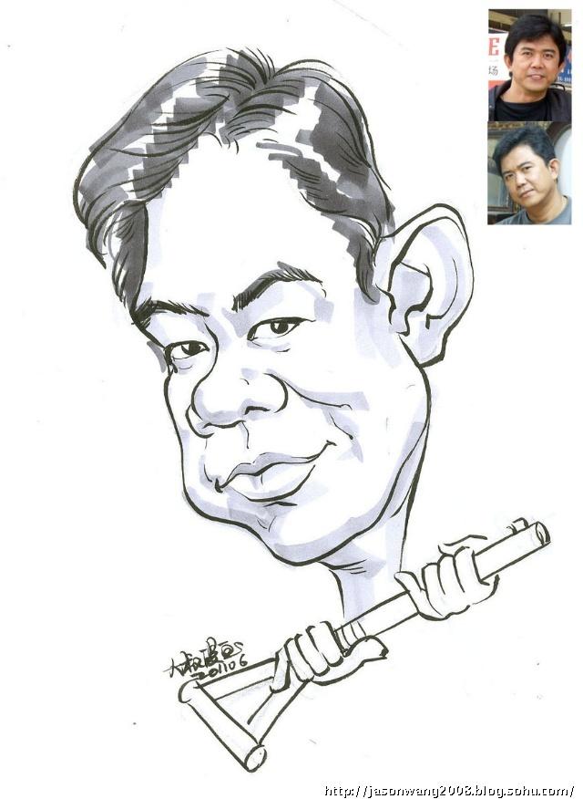 勒索搞笑漫画-漫画漫画速写-大叔速绘肖像简笔漫画夸张病毒图片