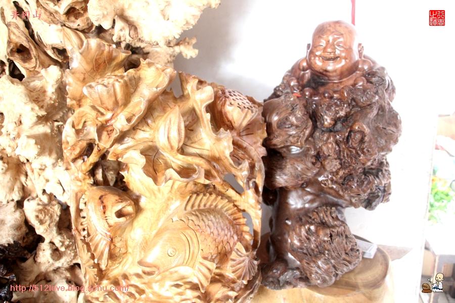 井冈山天街木雕欣赏