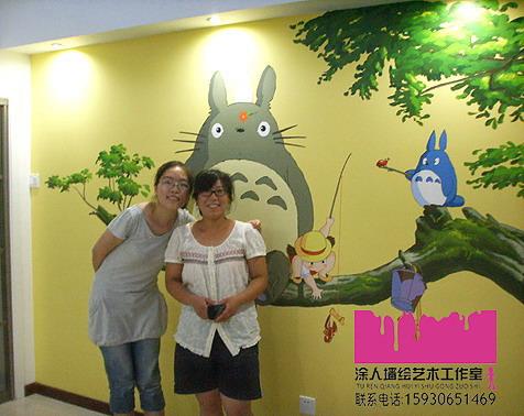 霸州幼儿园手绘墙画