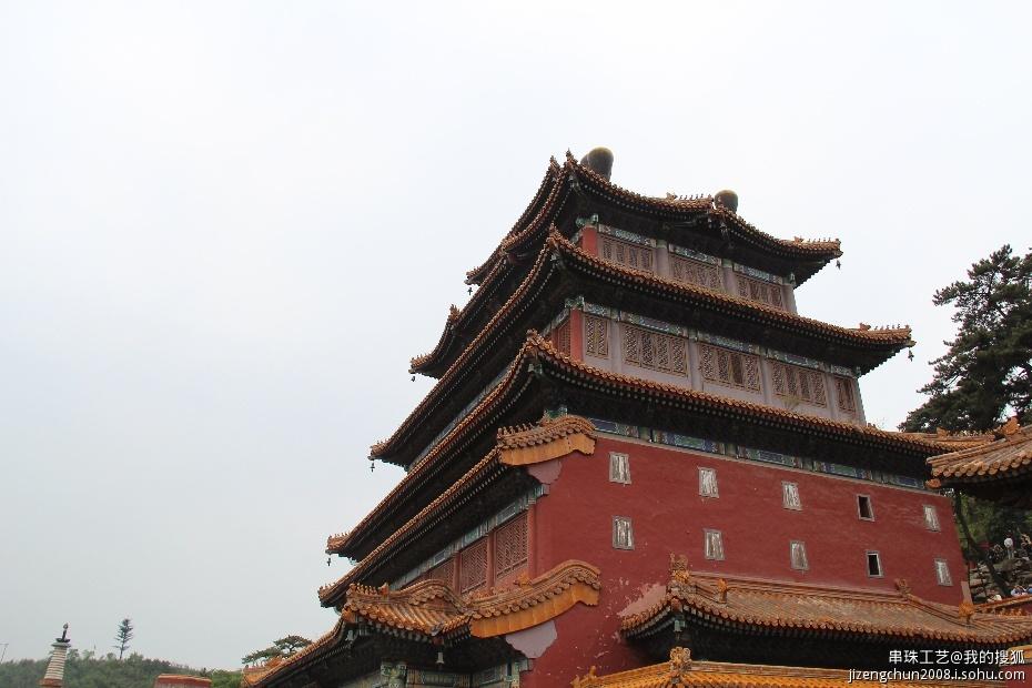 游览普宁寺