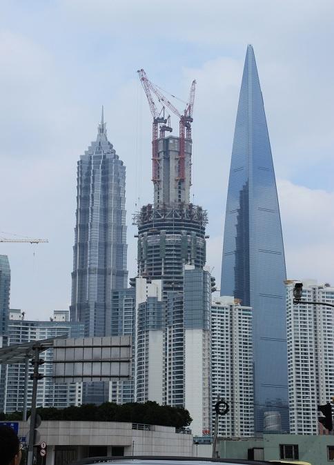 上海的那些超高摩天大厦-闲野云鹤-搜狐博客