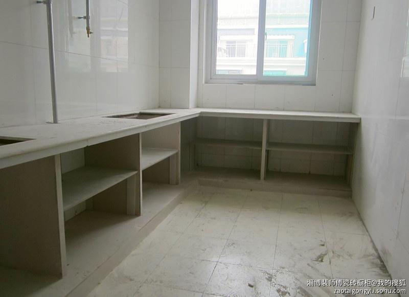 瓷砖橱柜制作过程|水泥橱柜制作|瓷砖灶台制作方法