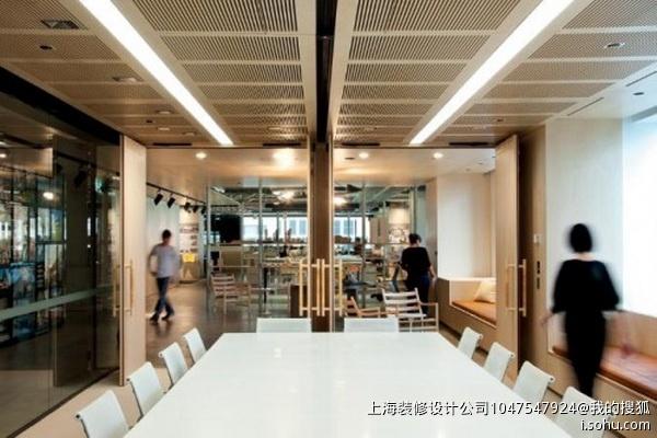 钢结构内办公室装修效果图