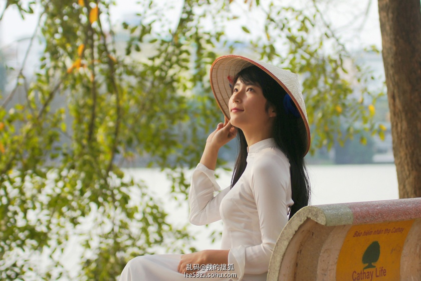 越南第一美女 如莲花般沉静动人