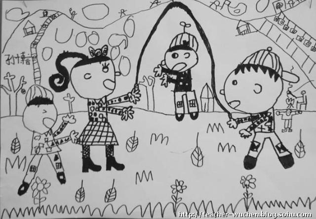 周日 儿童画