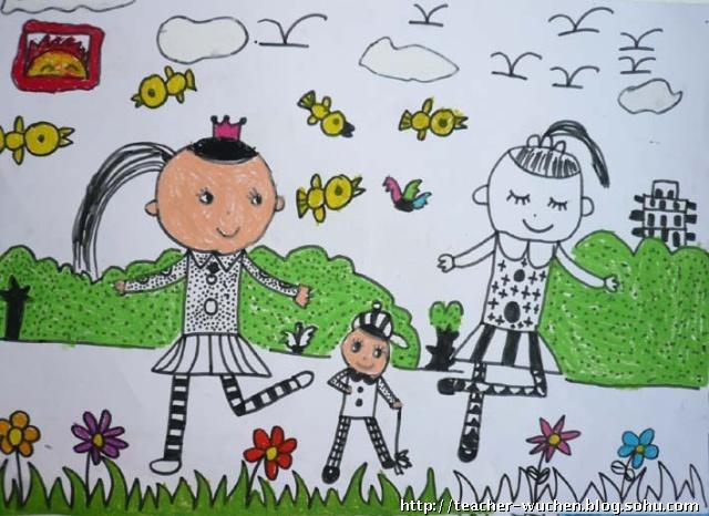 魏公村 儿童画