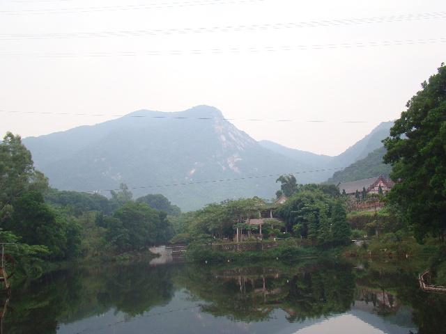 深圳游玩--园山风景区