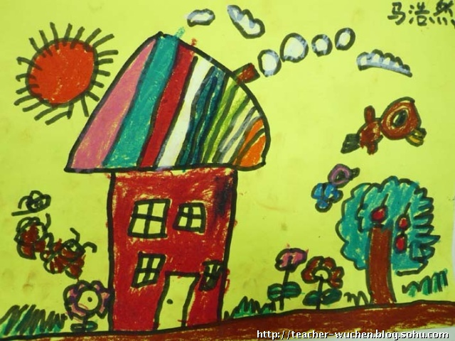 周五班 儿童画