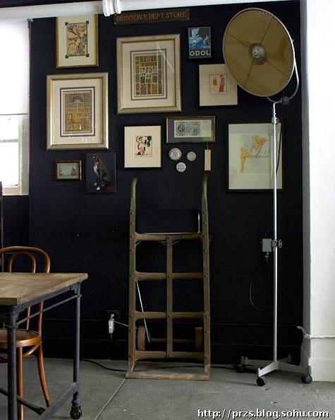 墙的设计案例.   照片墙   作为装饰.此文中展示20个国外