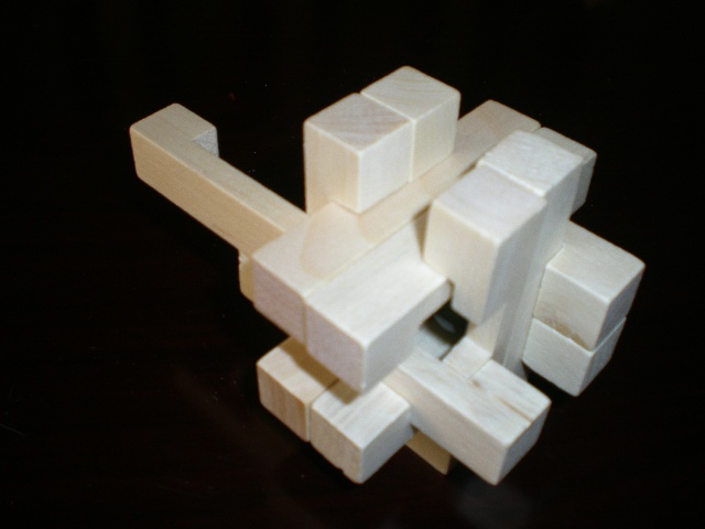 智玩具---鲁班锁(孔明锁)