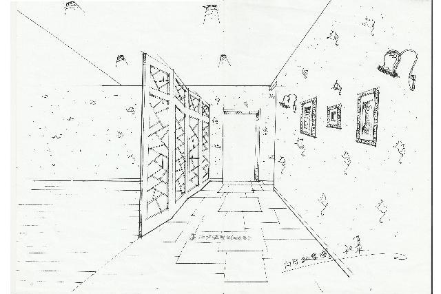 户型 户型图 简笔画 平面图 手绘 线稿 640_427