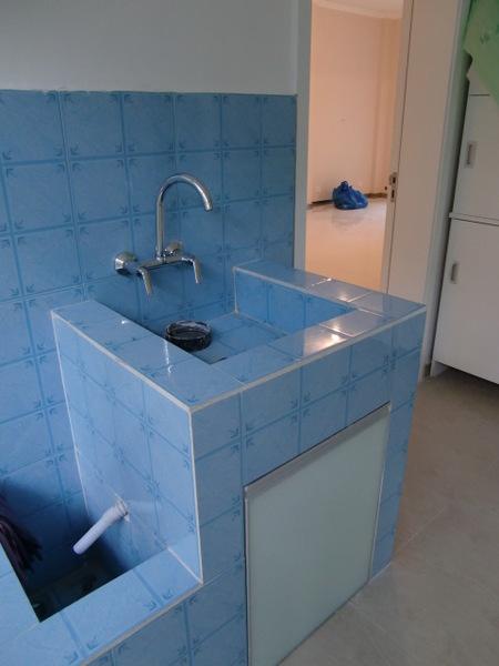 厨房砖砌橱柜设计图展示