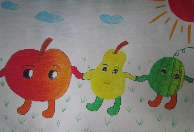 儿童画 640_435图片