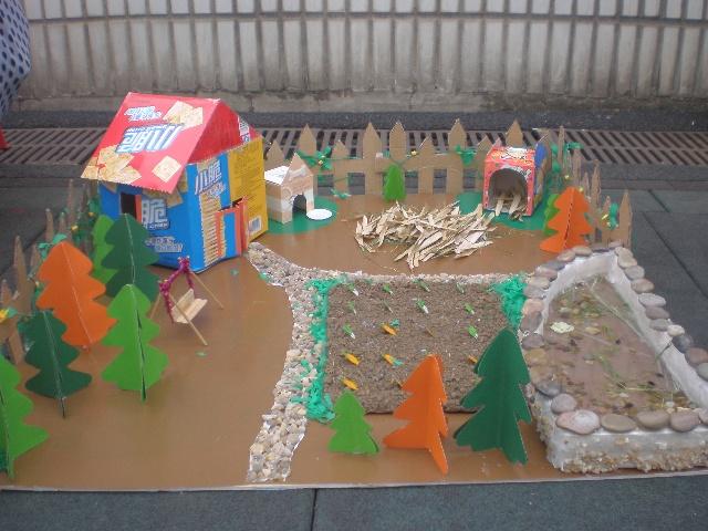 幼儿园美术区角布置图片下载分享; 宣传幼儿园五大领域发展