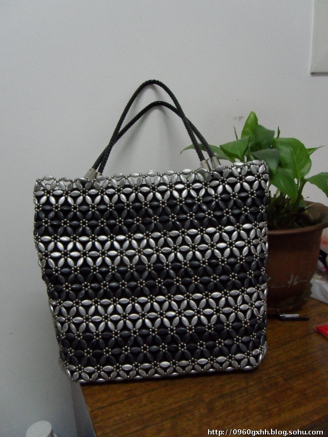 【晒包包】晒晒我手工编织的包包