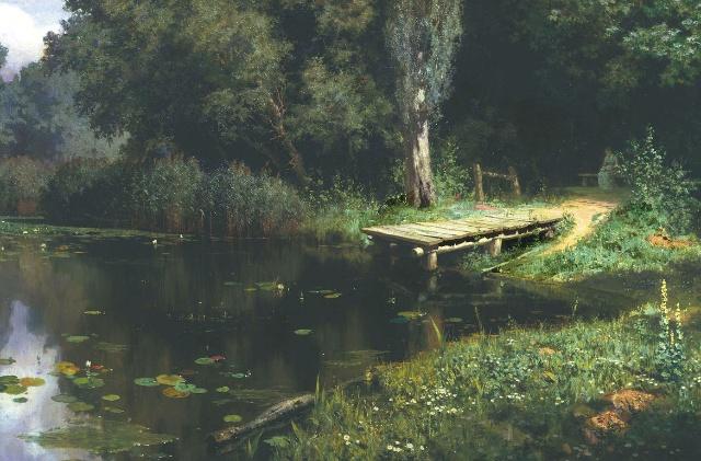 再介绍几幅俄国风景画的杰作