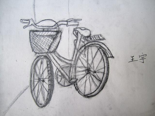 皮卡丘折纸,自行车写生-树画室-搜狐空间