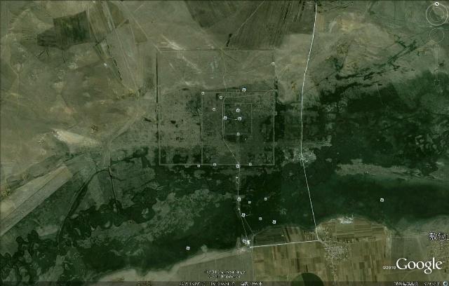 看看卫星图片