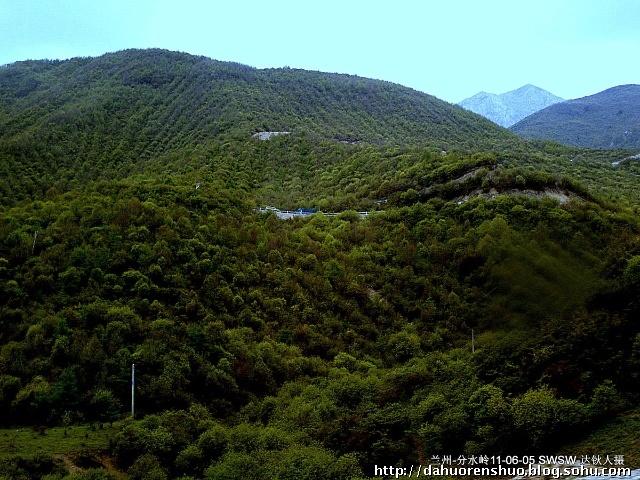 四川苍溪风景大山