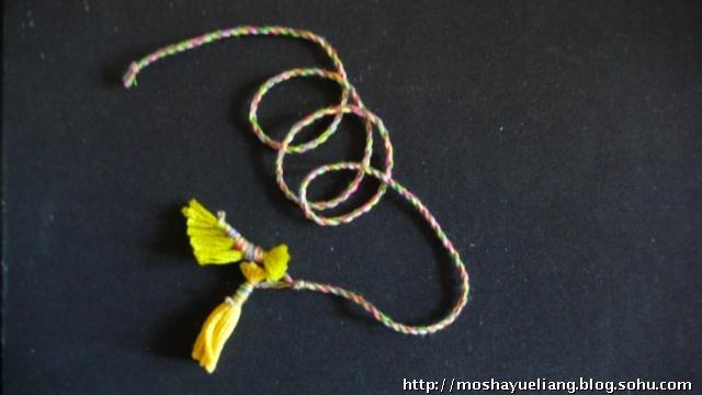 粽叶编织小动物图解