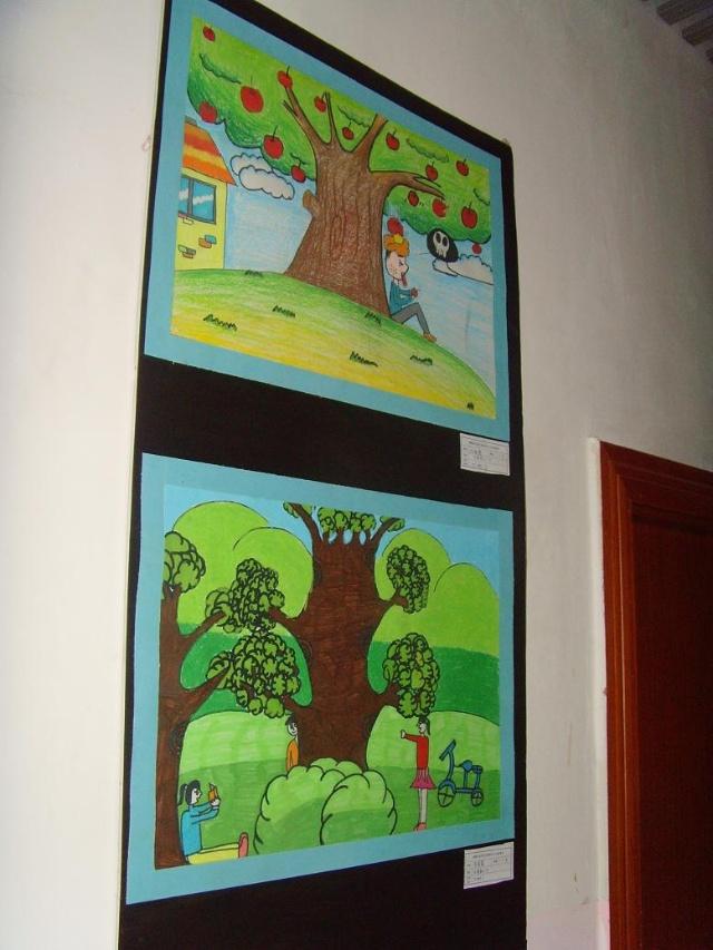 小太阳美术2011年上学期 收获的季节 主题 绘画