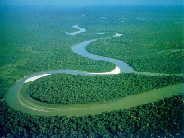 河流汇聚 视频 素材