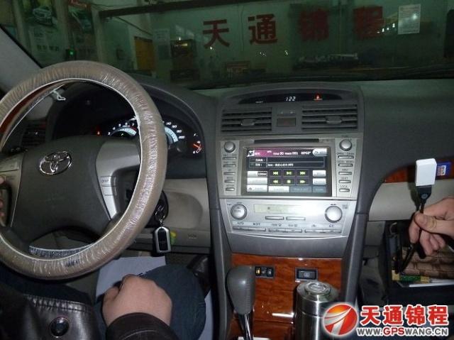 石家庄凯美瑞升级飞歌专车专用gps导航 车载dvd导航