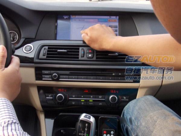li升级导航|新款宝马5系升级触摸手写导航|宝马5系加装无钥匙进入系统