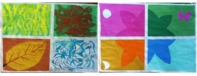 色彩是绘画的基本语言之一,它用来表现四季,表现我们对于春夏秋冬的图片