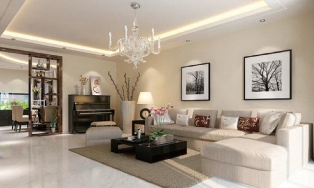挑高客厅如何设计——《业之峰明星设计师帮你设计家》 中国人向来有好客的风俗,客厅自然就成了装修中的重中之重。它既是房子风格最大化的体现,又是主人性格最直观的表现。如何设计挑高客厅,装修时需要注意哪些事项? 一、可采取局部隔层 很多客厅由于层高太高,甚至是普通住宅的两倍多,于是很多业主考虑将客厅隔层,这样面积就增加一倍。对此,很多资深设计师都表示不妥。别墅面积一般都很大,房间足够用,为了多一个房间的面积,舍去别墅客厅的宽敞、舒适和气派,没必要。其实别墅客厅可以采用局部隔层的方式,增