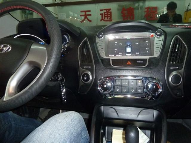 现代ix35升级飞歌专车专用导航