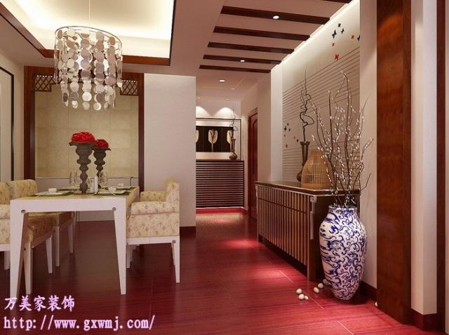 三房两厅室内装修案例餐厅设计效果图参考