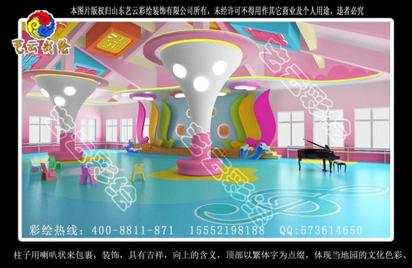 幼儿园彩绘 幼儿园墙体彩绘 幼儿园环境创设-河南漯河