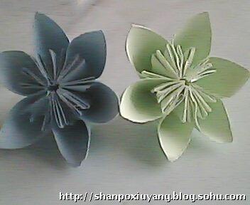 王佳小组的折纸玫瑰花让我惊艳!