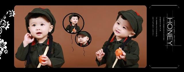 超有范的军装秀-北京儿童摄影-首选哈尼贝贝-我的