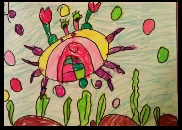 [转载]幼儿园中班的美术作品