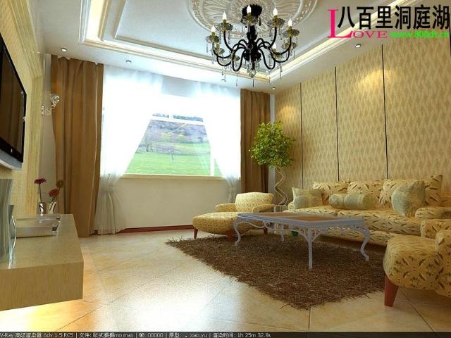 5000张室内设计客厅电视墙装修效果图室内装