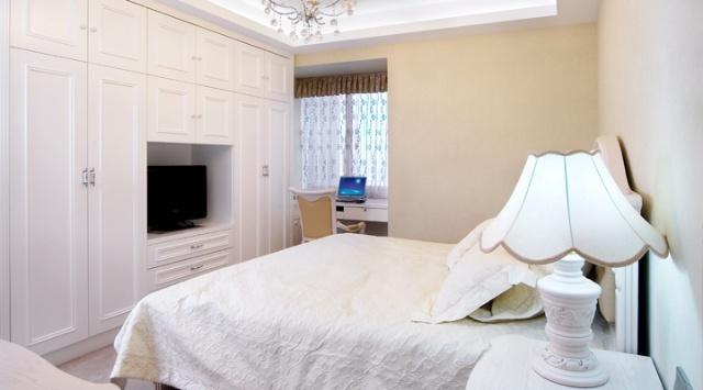 繁复的线条,花式的墙布与颜色厚重的织物是营造华丽欧式最常见的元素