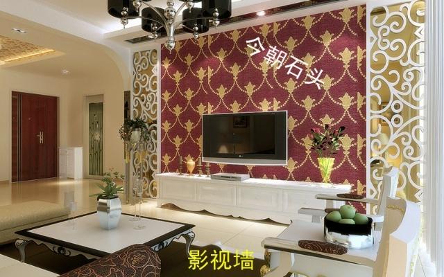 简欧式两居室室内设计效果图