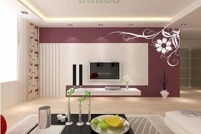 家庭装修之电视背景墙的设计技巧
