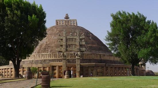 不可思议的印度--桑奇大塔sanchi
