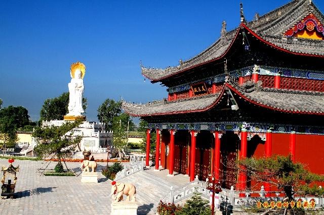吉林省榆树市法藏寺寺院图片介绍----天王殿(四)