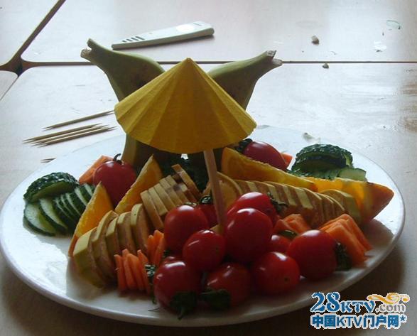 简单的水果拼盘设计图片,造型设计合理的水果拼盘