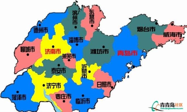 淄博到沂水地图