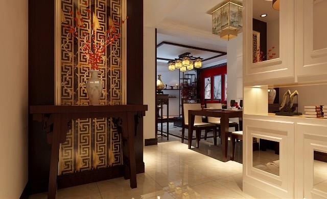88平装修-中式风格装修效果图----客厅以清雅