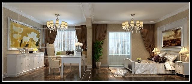 长辈欧式卧室装修效果图