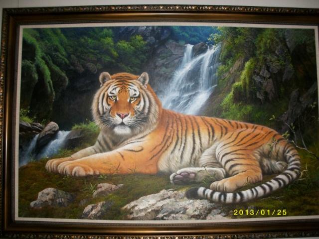 依山依水——朝鲜著名油画家精品展在黄河美术馆隆重