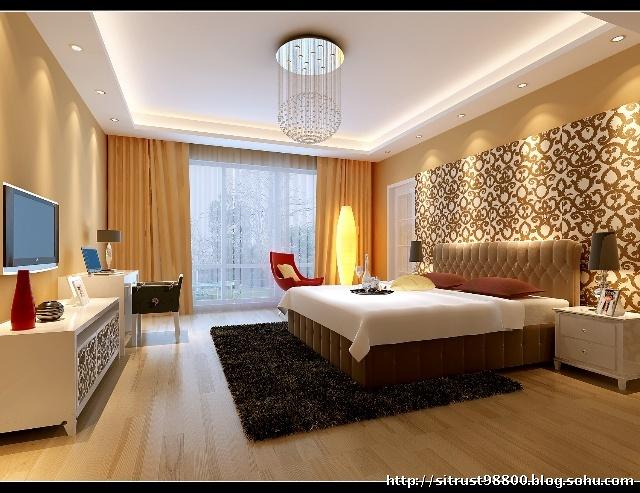 170平复式现代简约装修效果图-暖暖的家